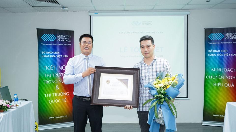 Sở Giao dịch Hàng hóa Việt Nam tổ chức Lễ tổng kết Công tác kinh doanh 06 tháng đầu năm 2019