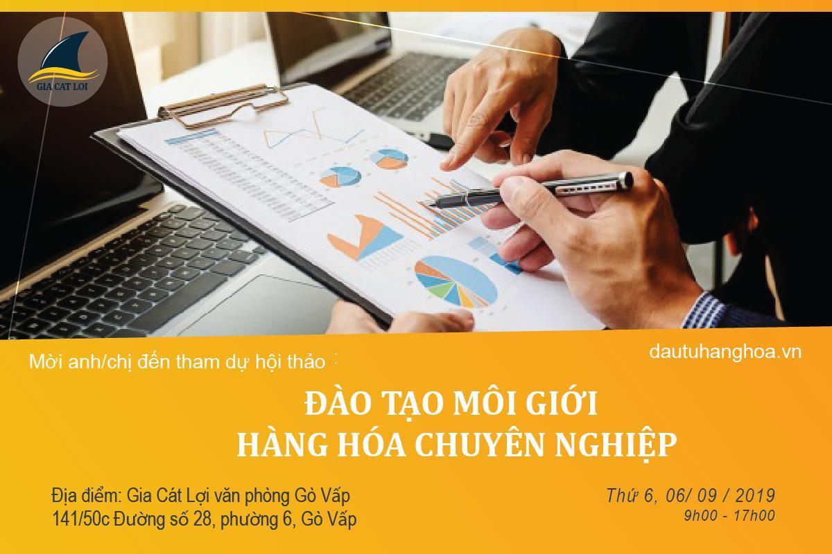 Đào tạo môi giới hàng hóa chuyên nghiệp